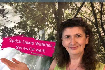 Wahrheit sprechen, Iris Ludolf Friedensberaterin