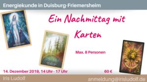 Energiekunde: Ein Nachmittag mit Karten @ Duisburg-Friemersheim