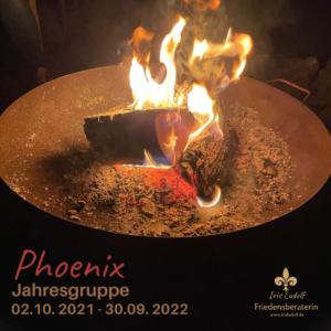 Phönix Jahresgruppe Iris Ludolf Friedensberaterin