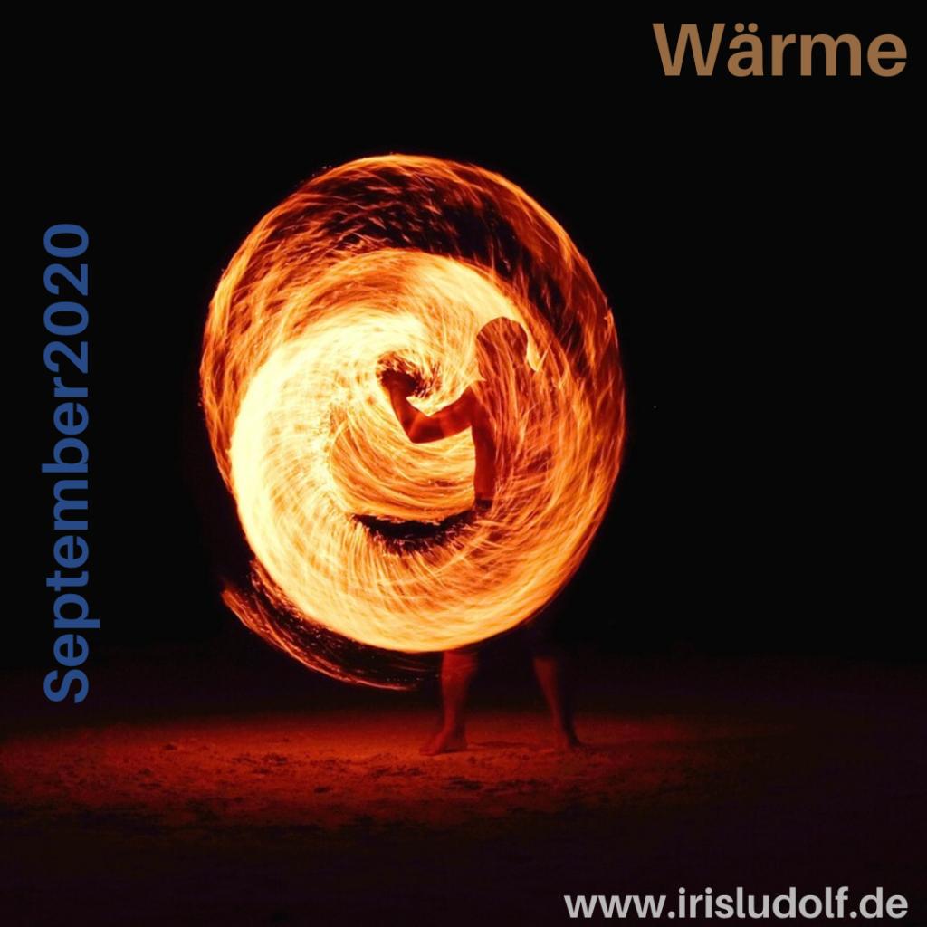 Wärme | Botschaft September 2020 | Iris Ludolf | Friedensberaterin