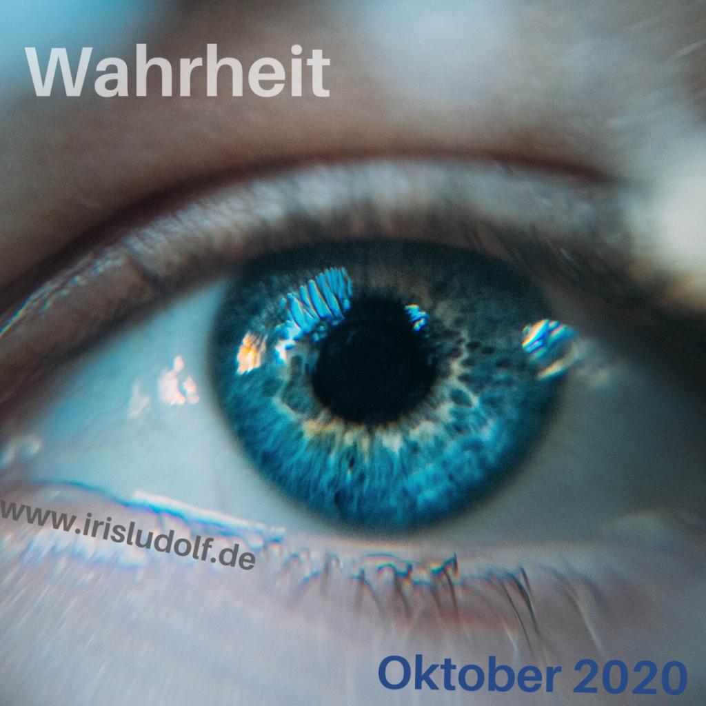 Wahrheit | Botschaft Oktober 2020 | Iris Ludolf | Friedensberaterin